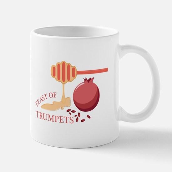 Feast Of Trumpets Mugs