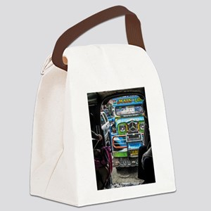 Baguio Jeepneys 1 Canvas Lunch Bag