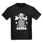 Echenique Family Crest Kids Dark T-Shirt