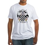 Echenique Family Crest Fitted T-Shirt
