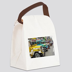 Baguio Jeepneys 4 Canvas Lunch Bag