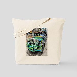 Baguio Jeepneys 5 Tote Bag