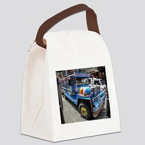 Baguio Jeepneys 2 Canvas Lunch Bag
