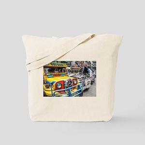 Baguio Jeepneys 3 Tote Bag