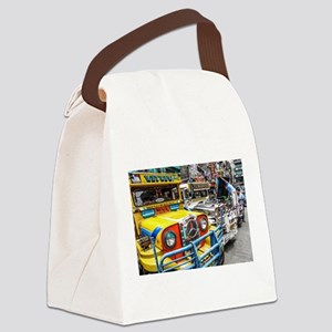 Baguio Jeepneys 3 Canvas Lunch Bag