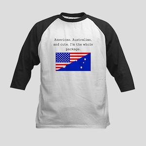 American Australian And Cute Baseball Jersey
