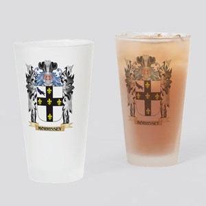 Morrissey Coat of Arms - Family Cre Drinking Glass