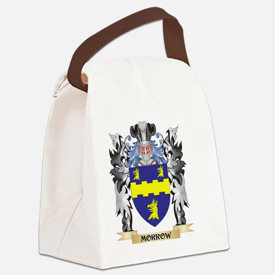 Morrow Coat of Arms - Family Cres Canvas Lunch Bag