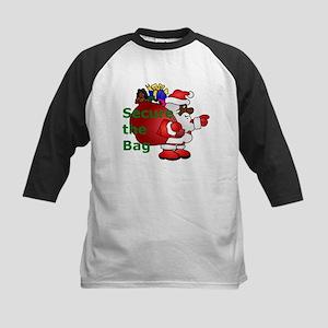 secure the bag santa Baseball Jersey