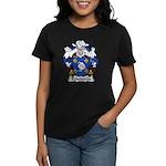 Echeberria Family Crest Women's Dark T-Shirt