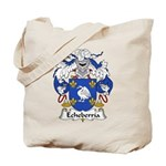 Echeberria Family Crest Tote Bag