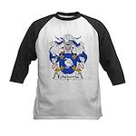 Echeberria Family Crest Kids Baseball Jersey