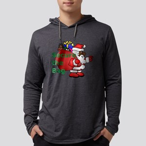 secure the bag santa Long Sleeve T-Shirt
