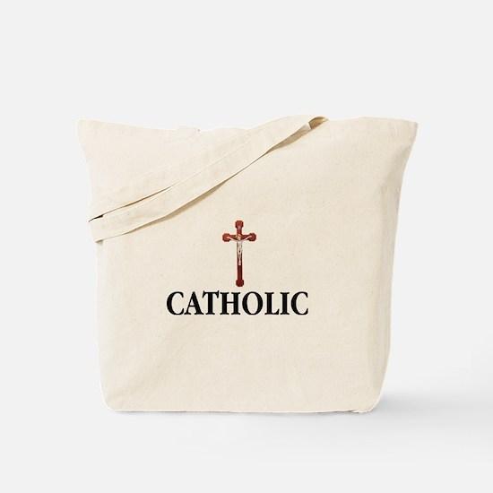 Cute Catholic saints Tote Bag