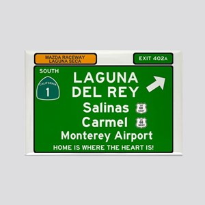 HIGHWAY 1 SIGN - CALIFORNIA - CARMEL - SAL Magnets