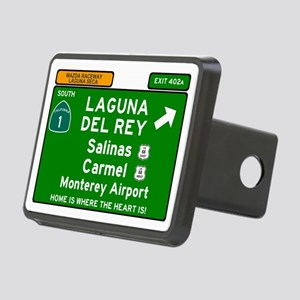 HIGHWAY 1 SIGN - CALIFORNI Rectangular Hitch Cover