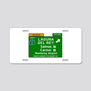 HIGHWAY 1 SIGN - CALIFORNIA Aluminum License Plate