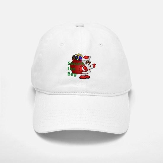 secure the bag santa Baseball Baseball Cap