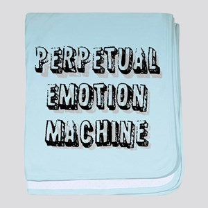 Perpetual Emotion Machine baby blanket