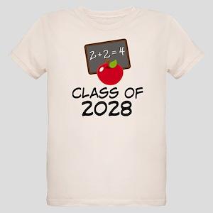 2028 Class Pride Organic Kids T-Shirt