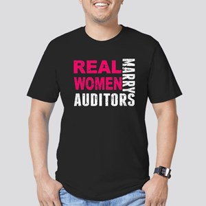 Real Women Marry Auditors T-Shirt