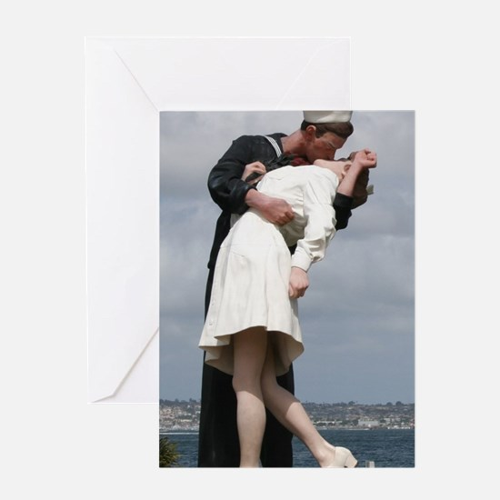 Unconditional Surrender Greeting Cards