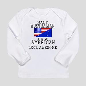 Half Australian Half American Long Sleeve T-Shirt