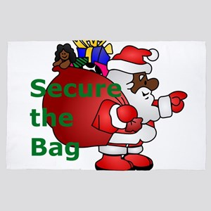 secure the bag santa 4' x 6' Rug