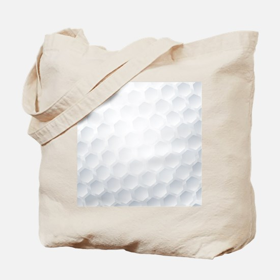 Golf Ball Texture Tote Bag