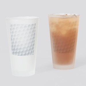 Golf Ball Texture Drinking Glass