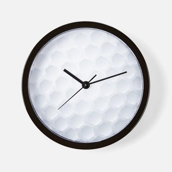Golf Ball Texture Wall Clock