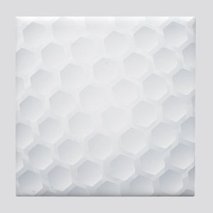 Golf Ball Texture Tile Coaster