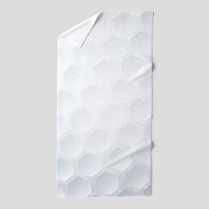 Golf Ball Texture Beach Towel