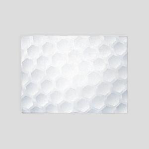 Golf Ball Texture 5'x7'Area Rug