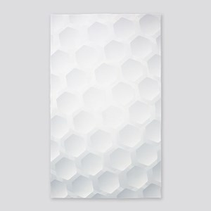 Golf Ball Texture Area Rug
