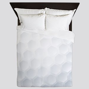 Golf Ball Texture Queen Duvet