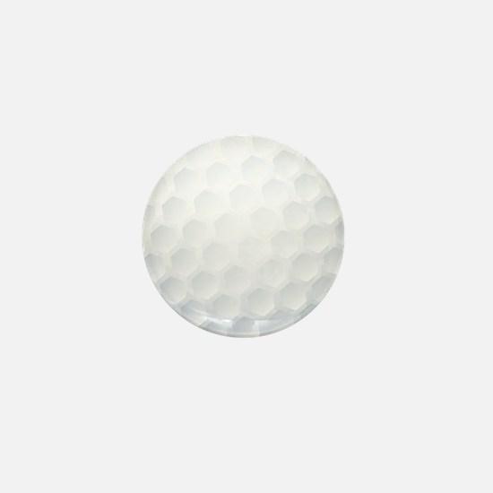 Golf Ball Texture Mini Button