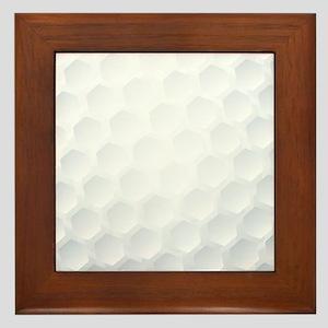 Golf Ball Texture Framed Tile