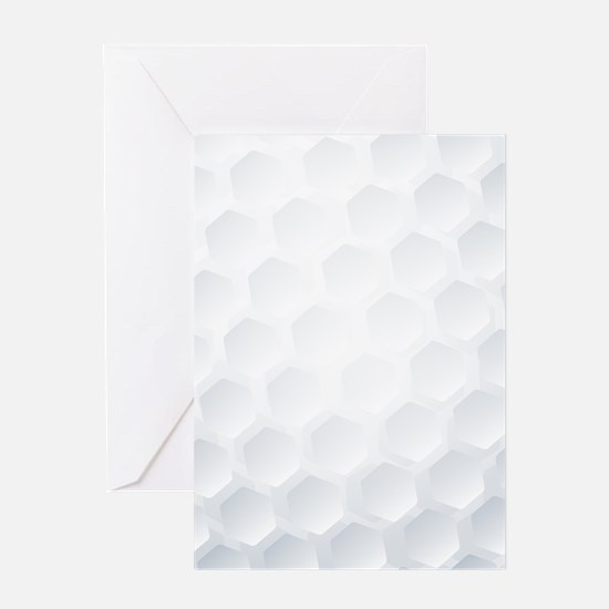 Golf Ball Texture Greeting Cards