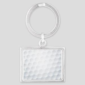 Golf Ball Texture Keychains