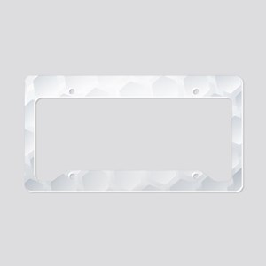Golf Ball Texture License Plate Holder
