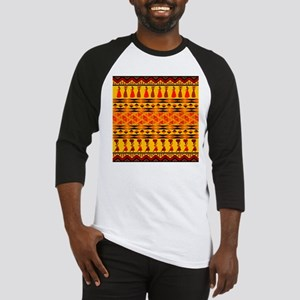 African Traditional Ornament Baseball Jersey
