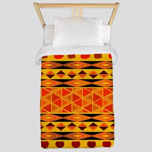 African Traditional Ornament Twin Duvet