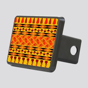 African Traditional Ornament Rectangular Hitch Cov