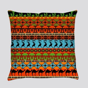 African Traditional Ornament Everyday Pillow