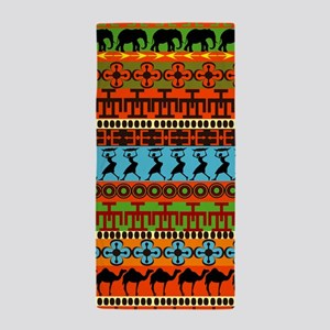 African Traditional Ornament Beach Towel