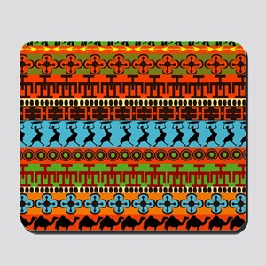 African Traditional Ornament Mousepad