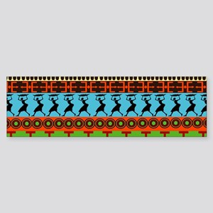 African Traditional Ornament Bumper Sticker