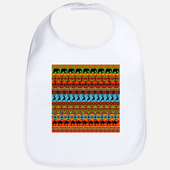 African Traditional Ornament Bib