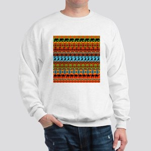 African Traditional Ornament Jumper